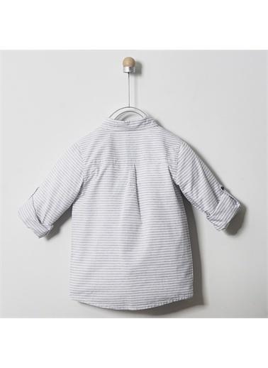 Panço Erkek Çocuk Uzun Kollu Gömlek 2011BK06015 Gri